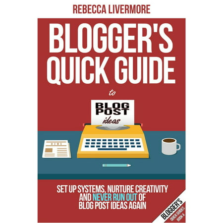 Blogger's Quick Guide to Blog Post Ideas: Set Up Systems, Nurture Creativity, and Never Run Out of Blog Post Ideas Again - eBook](Halloween Craft Ideas Blog)