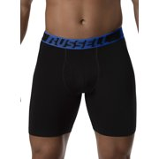 Russell Men's Active Performance Assorted Color Boxer Briefs, 3 Pack