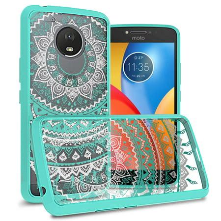 Coveron Motorola Moto E4 Plus  E Plus 4Th Generation  Case  Clearguard Series Clear Hard Phone Cover