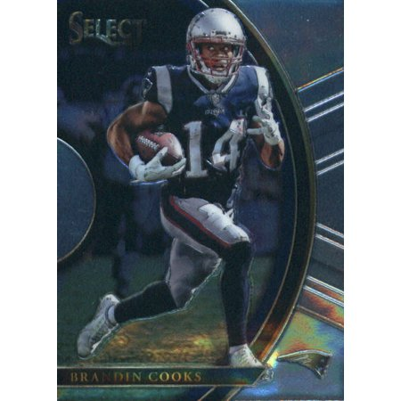 2017 Panini Select #81 Brandin Cooks New England Patriots Football Card (Patriots Football Game)