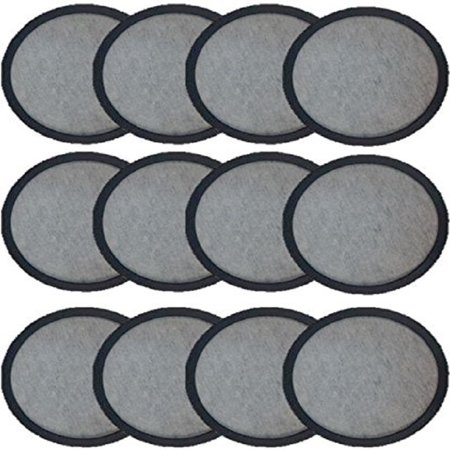 Bennett Machine Filters (Premium Replacement Charcoal Water Filter Disks for Mr. Coffee Machines [12 Pack] )