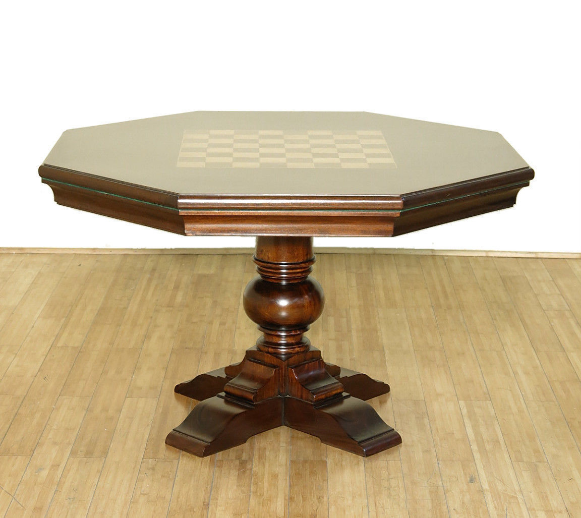 WHOLESALE Mahogany Traditional Recreational Game Table GT049-001-767-49 QTY1 by MBW Furniture