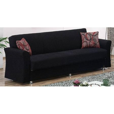 Beyan Signature Utah Convertible Sofa Walmart Com
