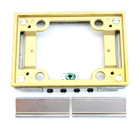 Shop Tile Box - Thomas & Betts 641 P TACB Brass Tile Activation Kit, One Gang, 1-Gang, For use With Floor Boxes