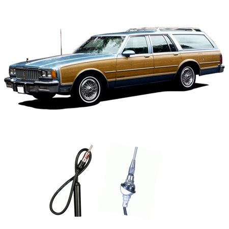 - Pontiac Bonneville Safari Wagon 87-89 Factory Replacement Radio Custom Antenna