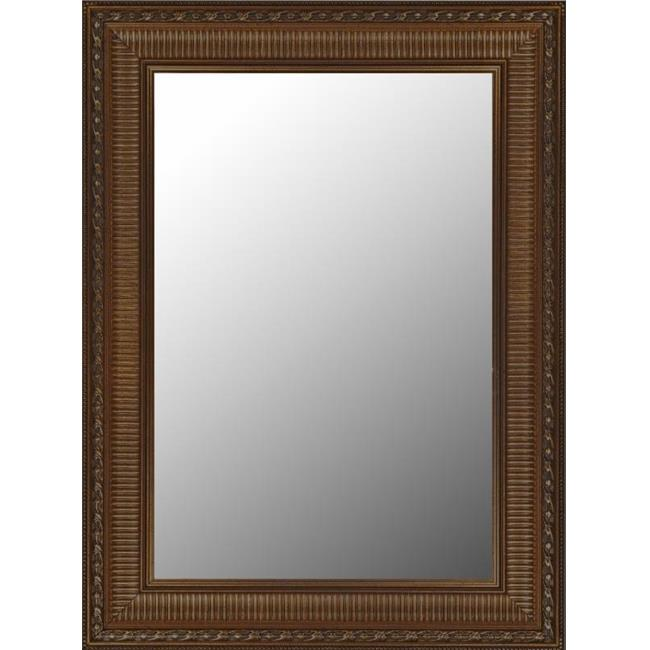 2nd Look Mirrors 270303 40x50 Regal Copper and Gold Accents Mirror by 2nd Look Mirrors
