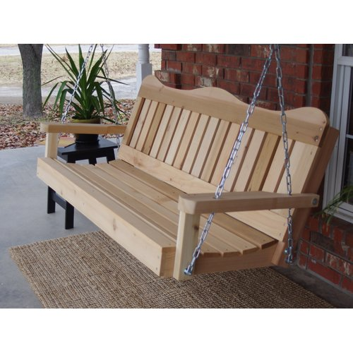August Grove Galvin Porch Swing
