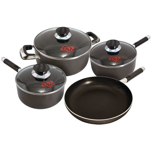 euro ware 7 piece cookware set. Black Bedroom Furniture Sets. Home Design Ideas