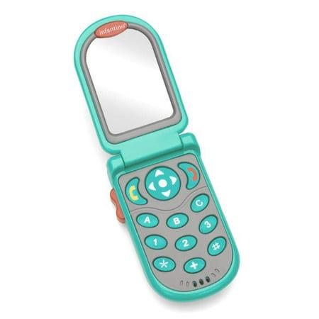 Infantino Flip & Peek Fun Phone Teal (Peep Dress)