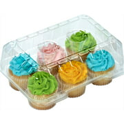 6-Compartment Cupcake Containers, 12 ct.
