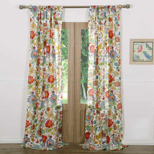 Greenland Home Fashions Astoria Curtain Panel (Set of 2)