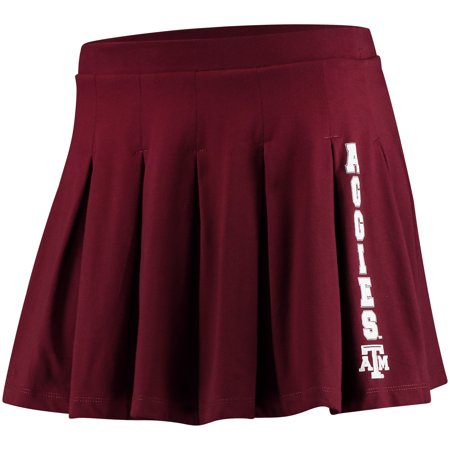 Texas A&M Aggies chicka-d Women's Team Pride Casual Cheer Skirt - Maroon](Maroon Skirt)