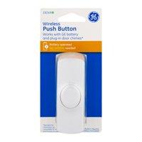 GE Wireless Push Button Door Chimes, 1.0 CT