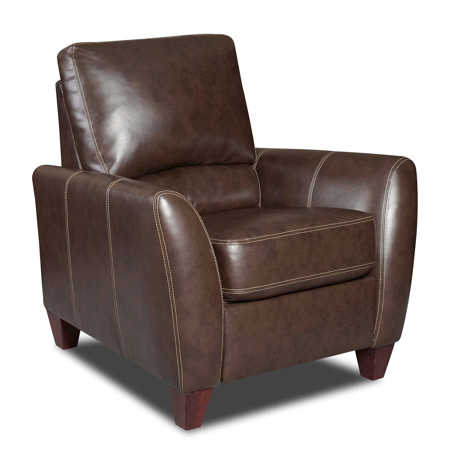 Chelsea Home Furniture Fairfax Bonded Leather Push Back Recliner by Chelsea Home Furniture LLC.
