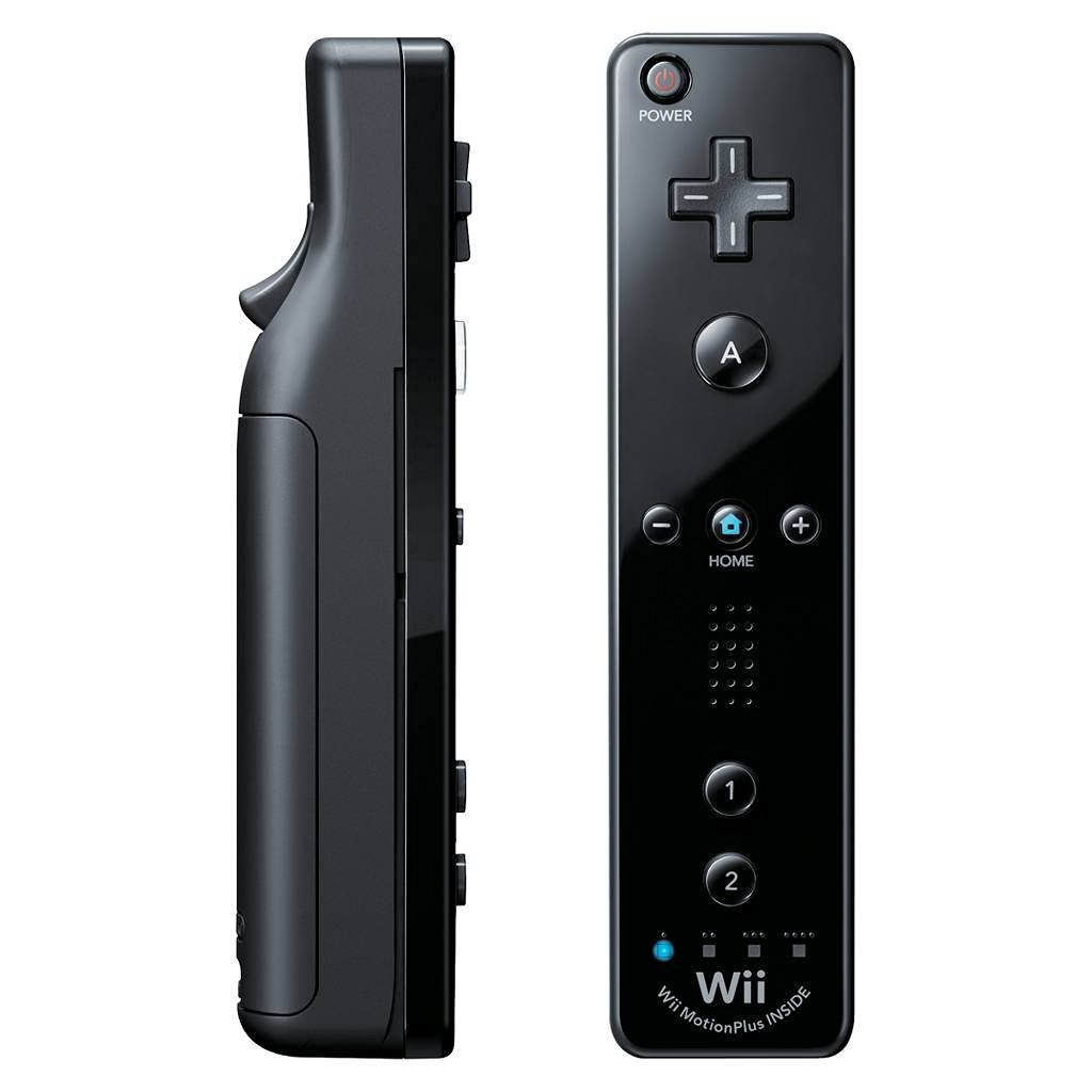 Refurbished Nintendo Wii Remote Motion Plus - Black