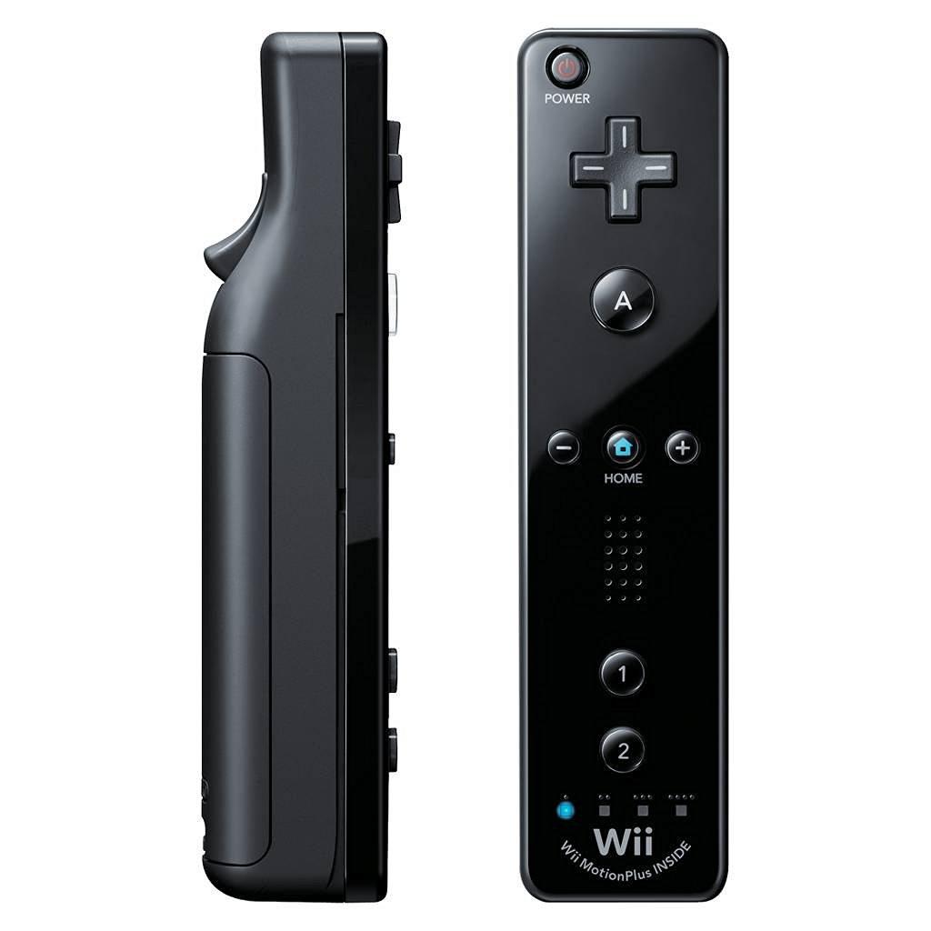 Refurbished Nintendo Wii Remote Motion Plus - Black