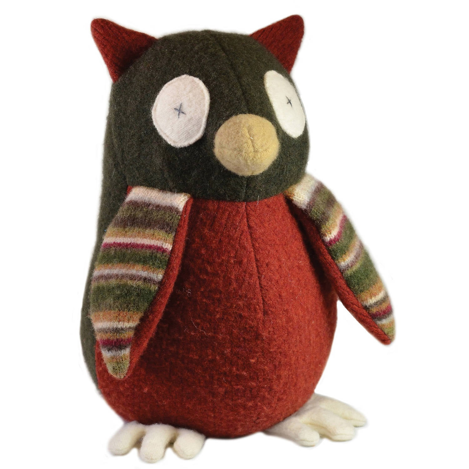 Cate and Levi Owl Stuffed Animal by Cate %26 Levi