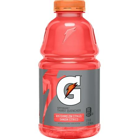 Gatorade Thirst Quencher Sports Drink, Watermelon Citrus, 32 oz Bottle