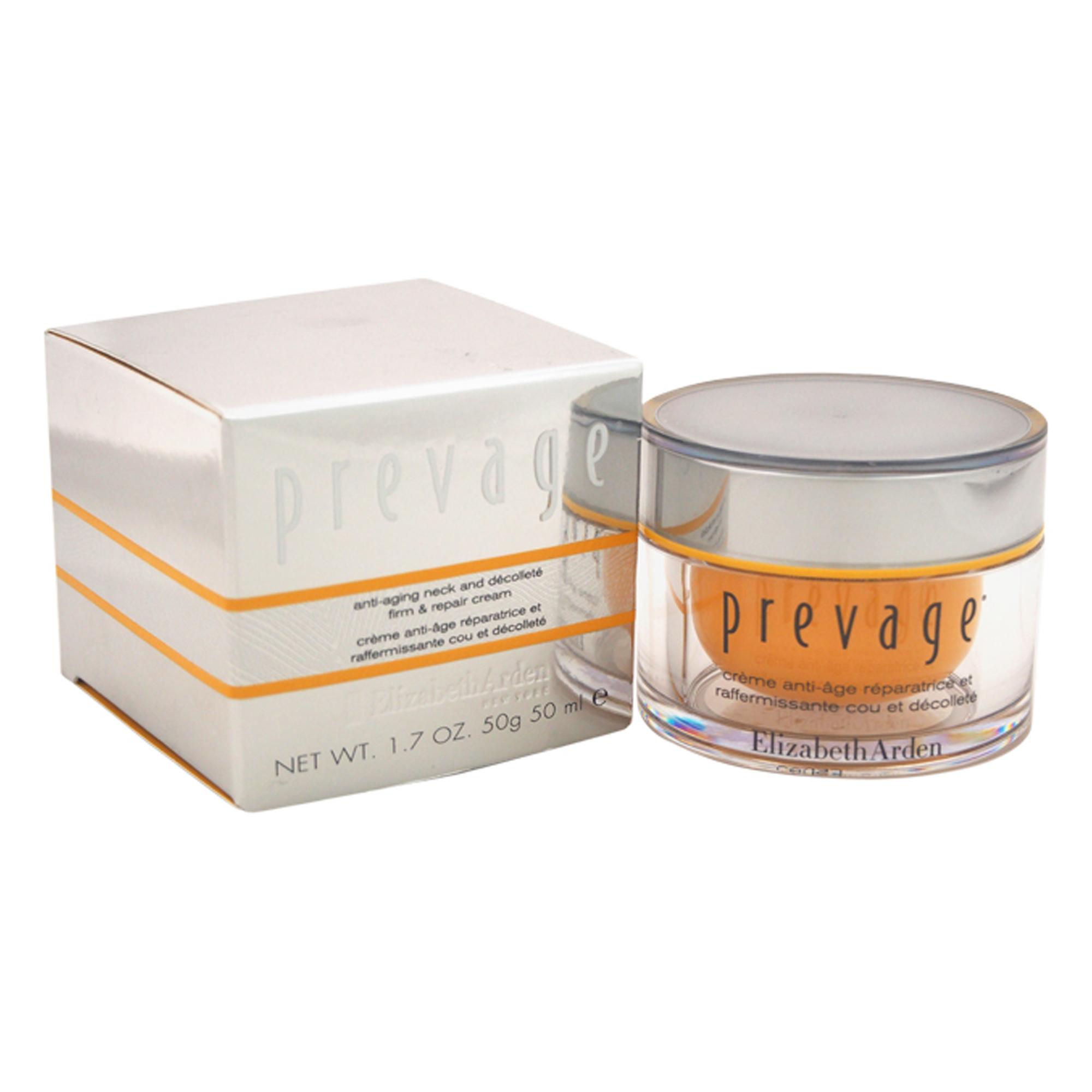 Elizabeth Arden Prevage Anti-Aging Neck & Decollete Firm & Repair Cream, 1.7 Oz