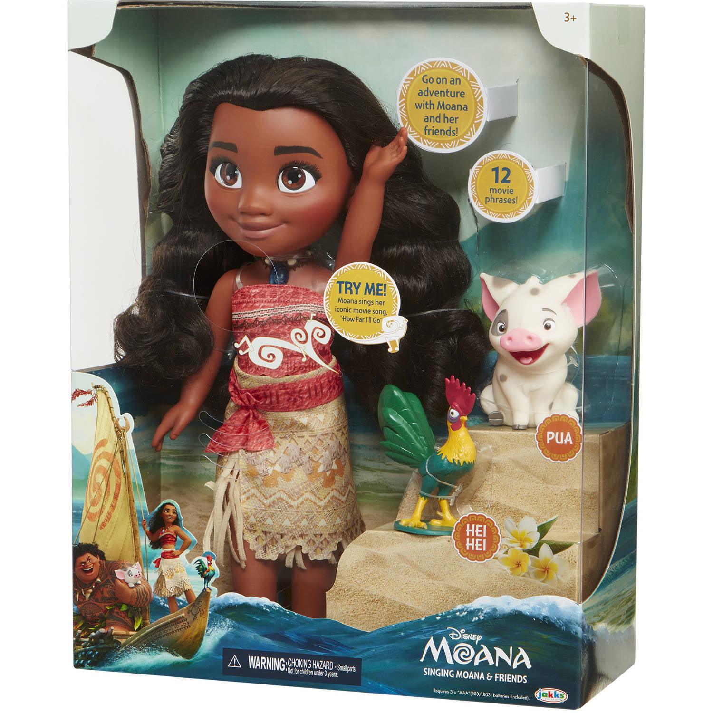 Disney Moana Singing Moana and Friends Walmart