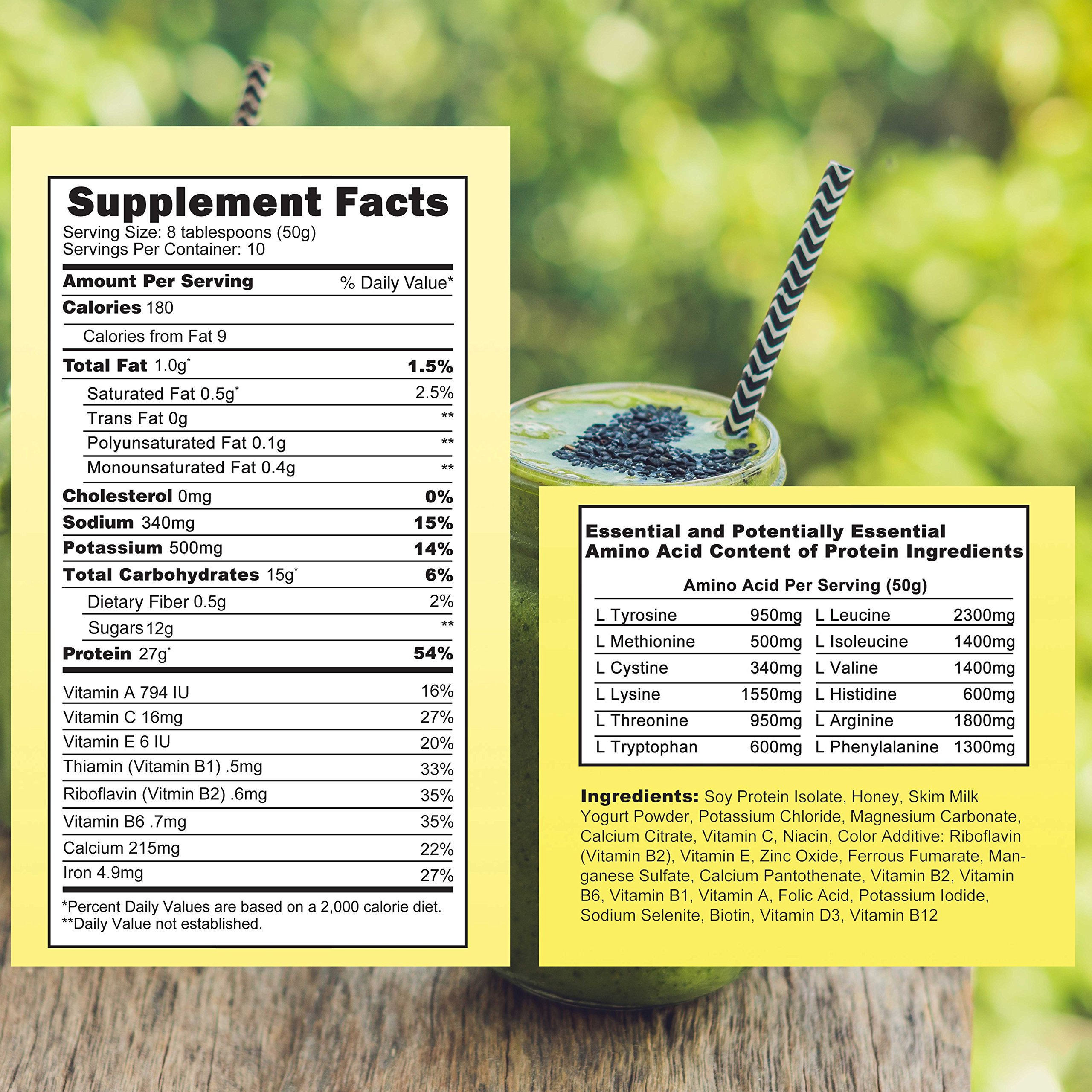 Almased Meal Replacement Shakes -Soy