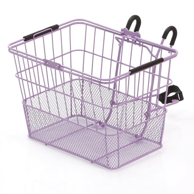 Ultracycle Hook & Go Mesh Qr Basket Purpleple 34X25X24Cm