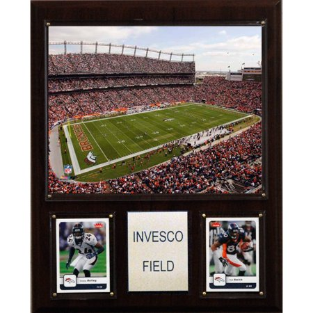 C&I Collectables NFL 12x15 Invesco Field Stadium Plaque