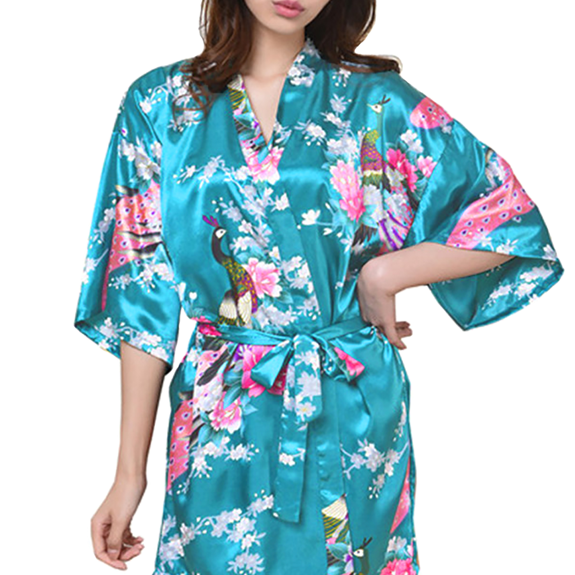 6c65b8e502 Gifts Are Blue - Medium Length Womens Robes
