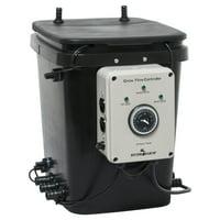 Hydrofarm Active Aqua Grow Flow Ebb and Gro Controller Unit w/ 2 Pumps | GFO7CB