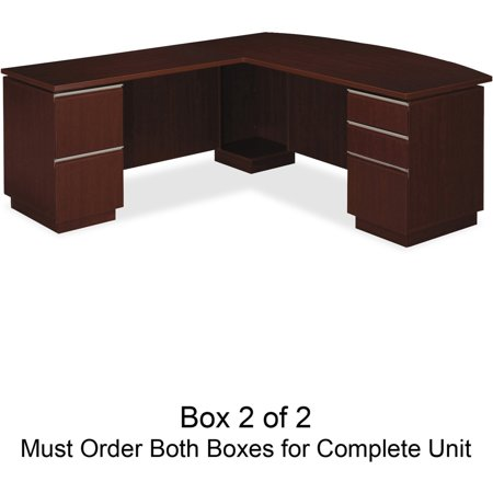 Bush Business Furniture Milano Desk Box 2 of 2 (Should Purchase 50DLL72A1CS to Complete the Set) 50DLL72A2CS