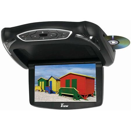 "Tview T133DVFD 13.3"" Widescreen Flip Down Monitor Dvd Player 3 Skins"