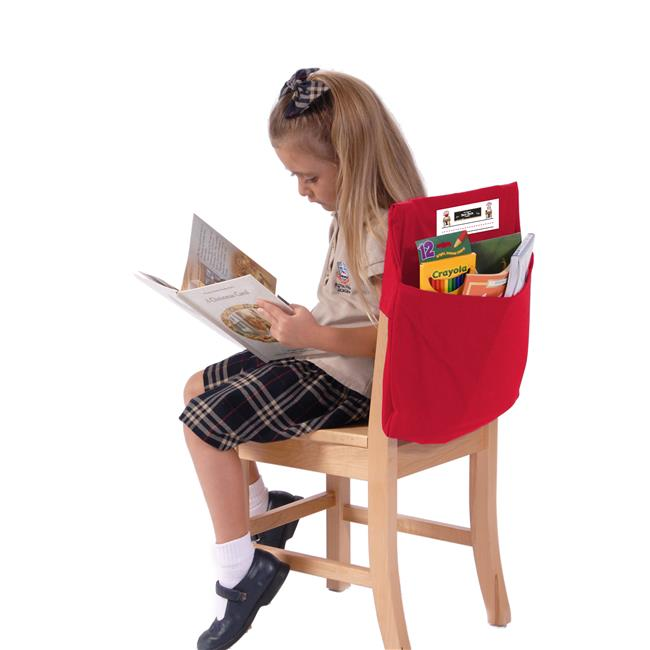 Seat Sack 10114 Standard 14 inch Seat Sack Red - Pack of 2