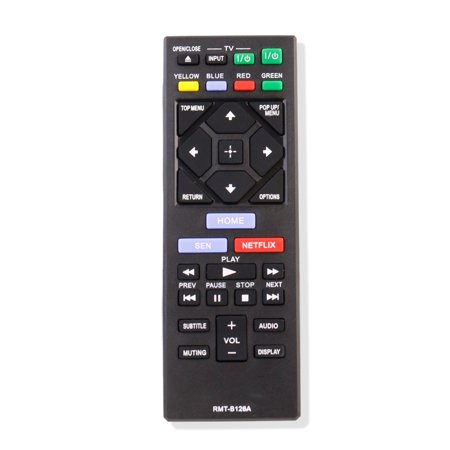 Brand New RMT-B126A Remote For Sony BDP-S3200 BDP-S5200 BDP-S5200/D Blu-Ray DVD Player ()
