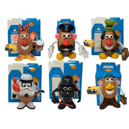 Disney Potato Head (Disney Exclusive Mr Potato Head 6 Complete Figures Star Wars Mickey Minnie)