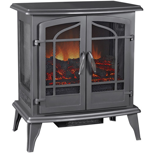 Pleasant Hearth Panoramic Stove, Vintage Iron, SES-81-80