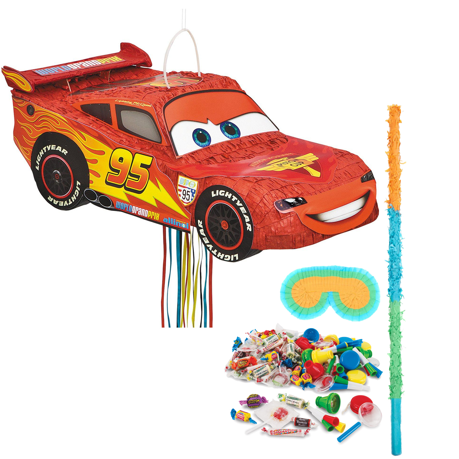 Cars - The Movie Pinata Kit - Party Supplies