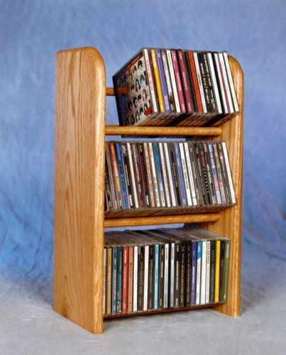 The Wood Shed 304 CD Rack Dark by CD Racks