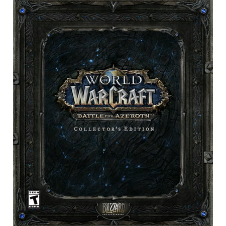 World of Warcraft: Battle for Azeroth Collector's Edition, Blizzard Entertainment, PC,