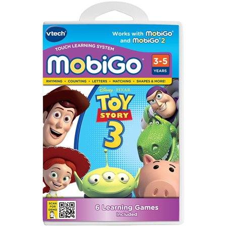 Mobigo Software Toy Story 36 Interactive Games Teach Letter