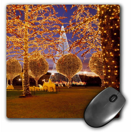 3dRose Christmas, Opryland Hotel, Nashville, Tennessee USA - US43 BJN0048 - Brian Jannsen, Mouse Pad, 8 by 8 inches ()