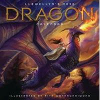 Llewellyn's 2020 Dragon Calendar (Books)