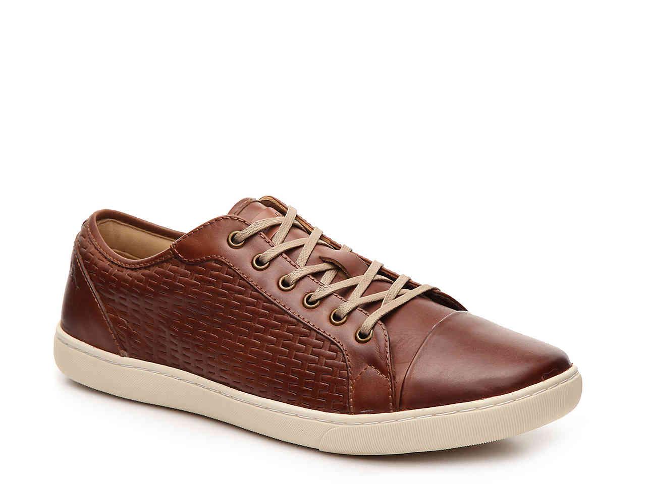 Tommy Bahama Mens Garrett Woven Captoe Sneaker (Tan, 14) by