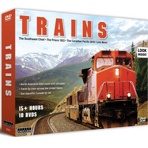 Trains: 10 DVD Set