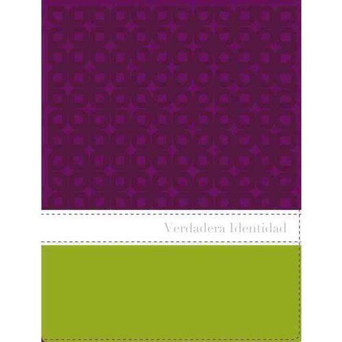 Verdadera Identidad: Nueva Version International, Ciruela / Manzana Verde, Italiana a dos tonos, La Biblia para la mujer de hoy / Purple/Green Italian Duo-tone