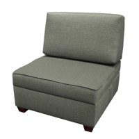 Duobed MFCH30-GR 30 in. Chair Plus 1 BS Storage Ottomans Flint