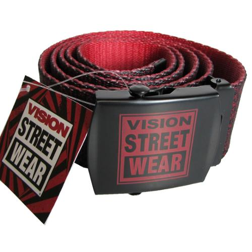 Vision Street Wear Mens Skateboard Box Frame Buckle Belts ()