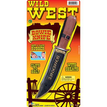 Wild West Bowie Knife - 1 Pkg (The Wild West Bowie Knife No 3)