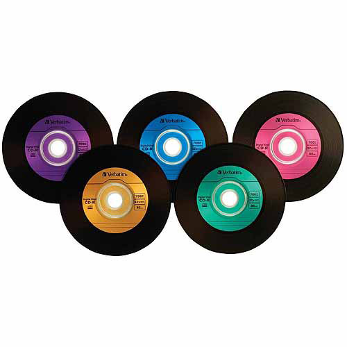 Digital Vinyl CD-R 80 min/700MB 52x Spindle, 50pk
