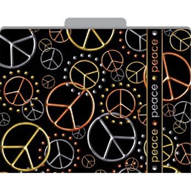 Barker Creek LL-1328F Peace File Folders