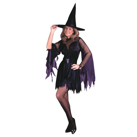 Sassy Witch Adult Halloween Costume, One Size](Simple Last Minute Diy Halloween Costumes)